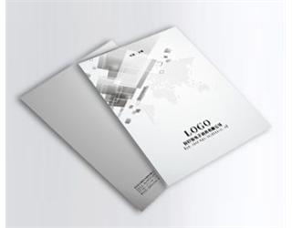 【灰色调】企业画册