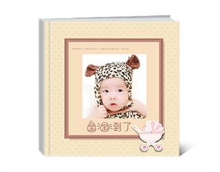 【寶寶來了】紀念冊